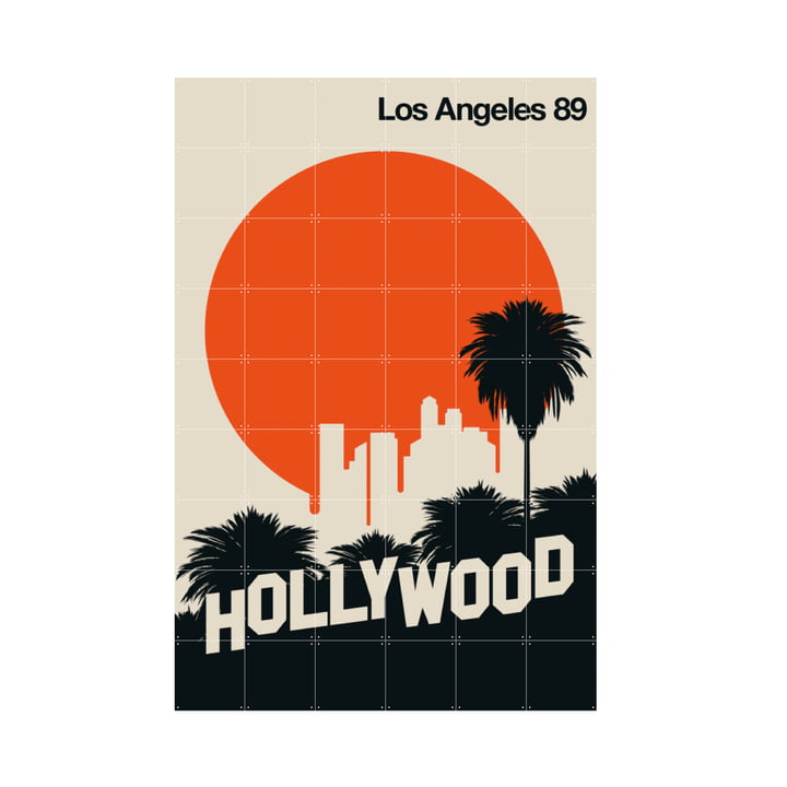Los Angeles 89 (Bo Lundberg) 120 x 180 cm from IXXI