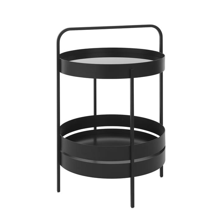 Albert side table Ø 40 cm from Schönbuch in black