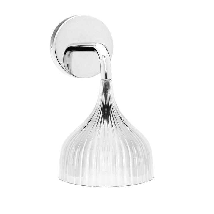 É Wall lamp, crystal clear from Kartell