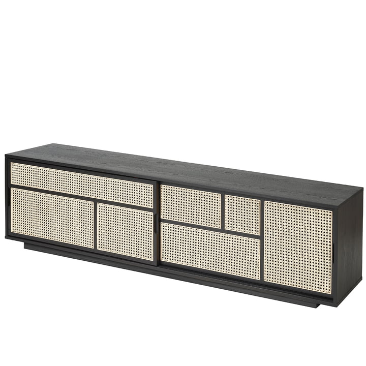 Air sideboard / TV console by Design House Stockholm in black