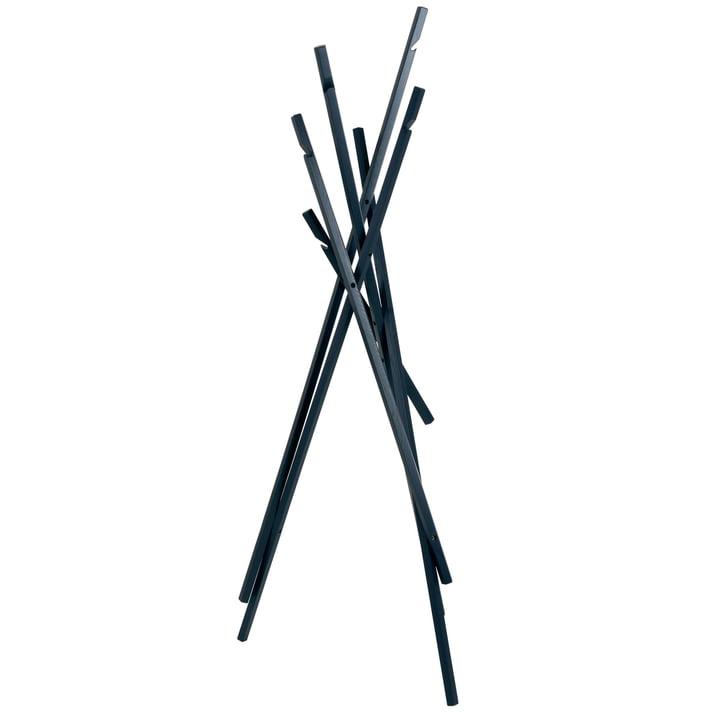 Sticks wardrobe from Schönbuch in ash midnight blue