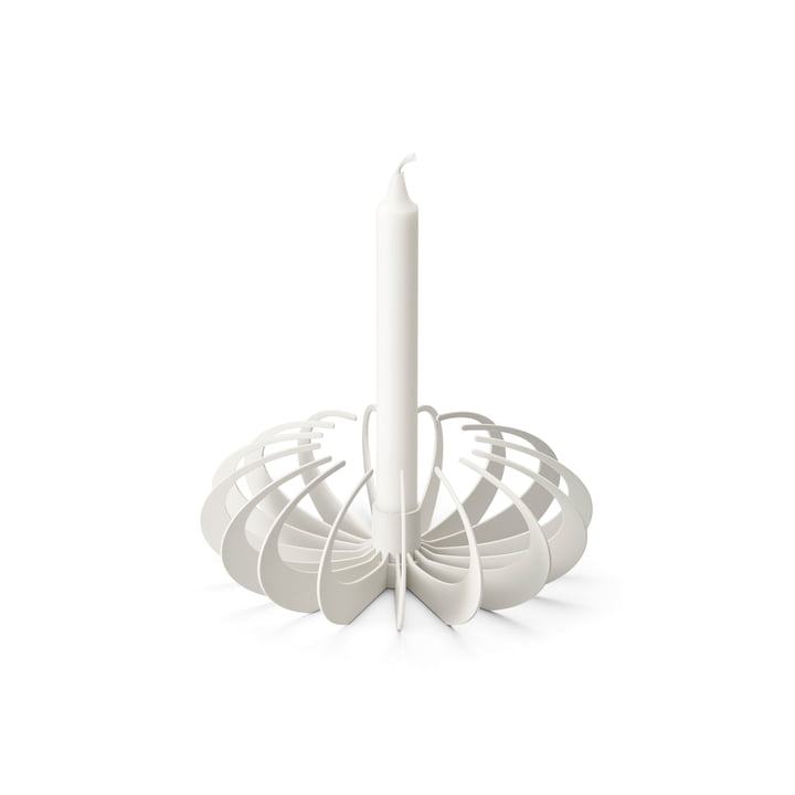 Shadow candle holder by Design House Stockholm in white