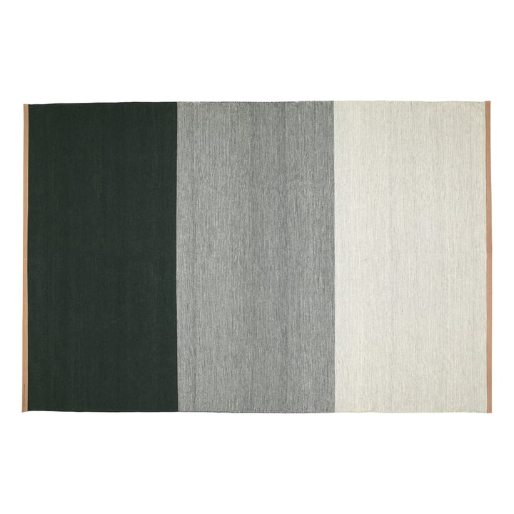 Fields carpet 200 x 300 cm from Design House Stockholm in green / grey
