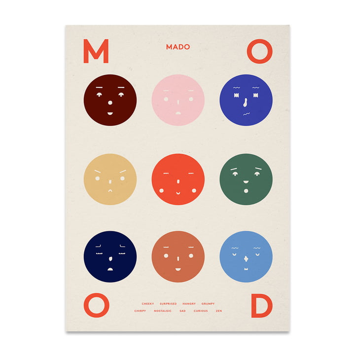 Nine Moods 50 x 70 cm from Paper Collective