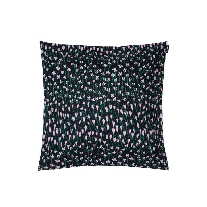 Apilainen cushion cover 45 x 45 cm, dark blue / purple / green by Marimekko