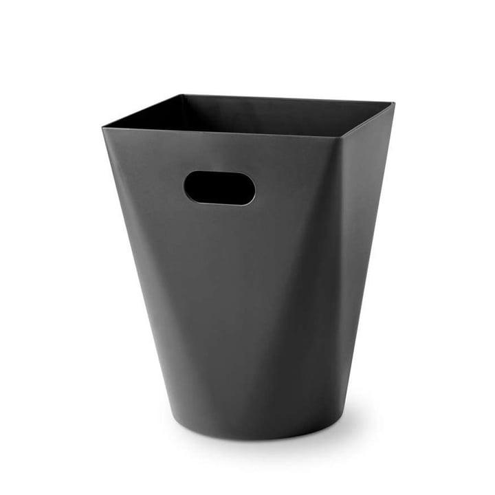 Square Midi wastebasket from Depot4Design in black