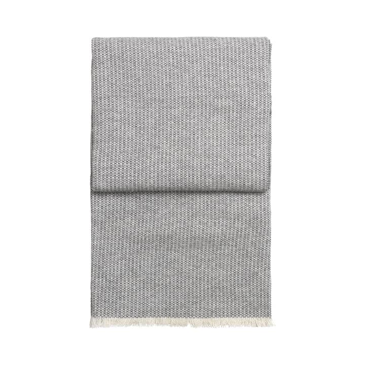 Bricks blanket, white / light grey / grey by Elvang