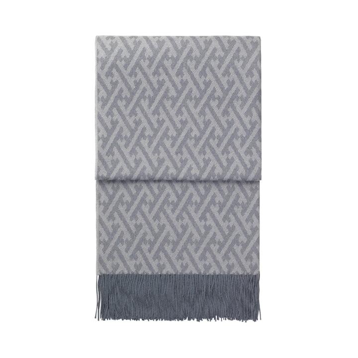 Amazing blanket, grey blue / grey by Elvang