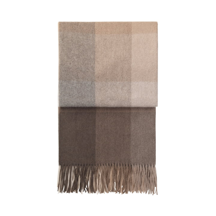 Inca blanket, brown by Elvang