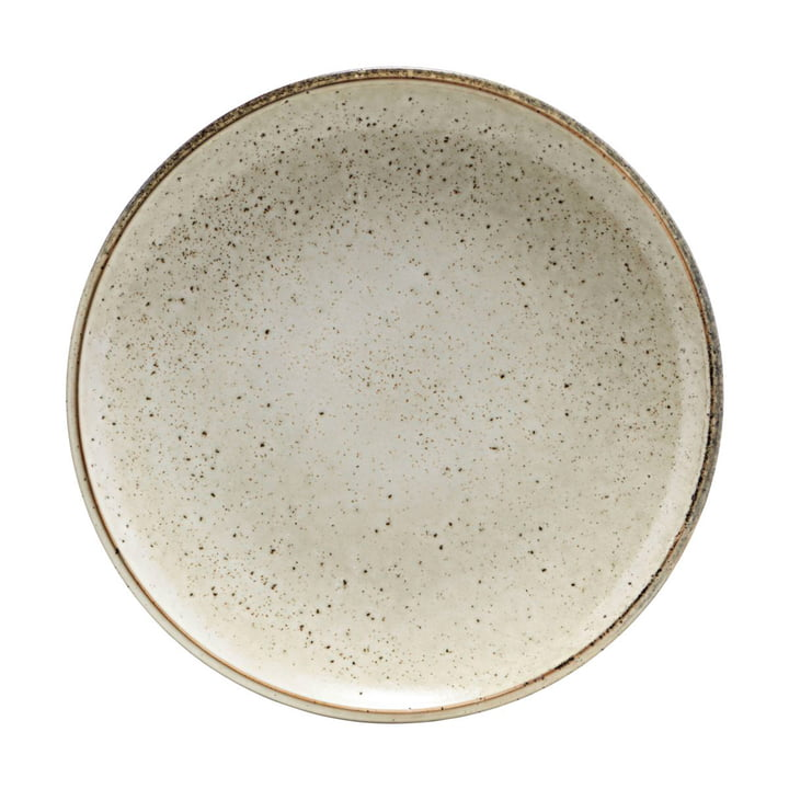 Lake earthenware plate Ø 27 cm, grey by House Doctor