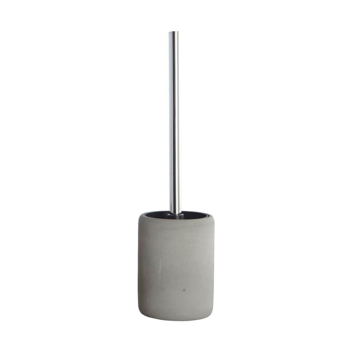 Cement Toilet Brush by House Doctor
