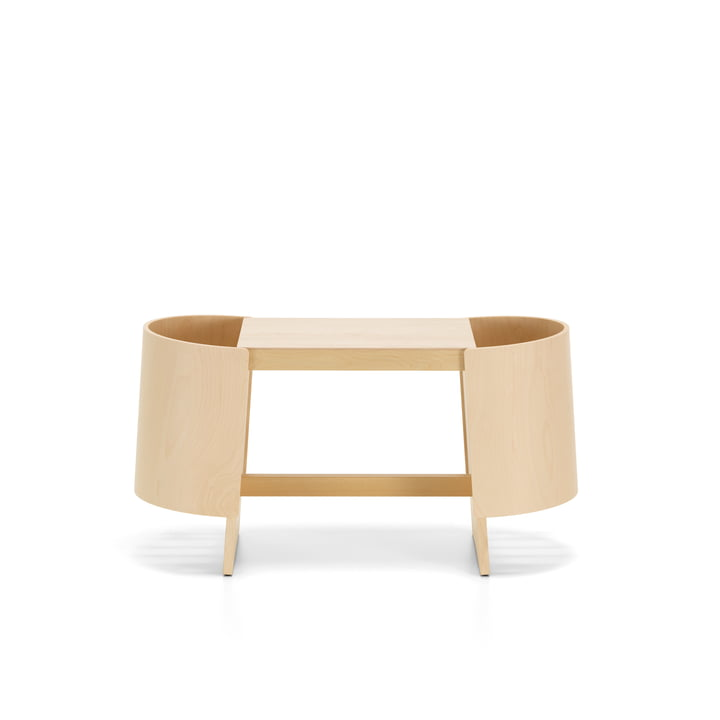 Kiulu bench W 88 x 36 cm by Artek in birch clear varnished