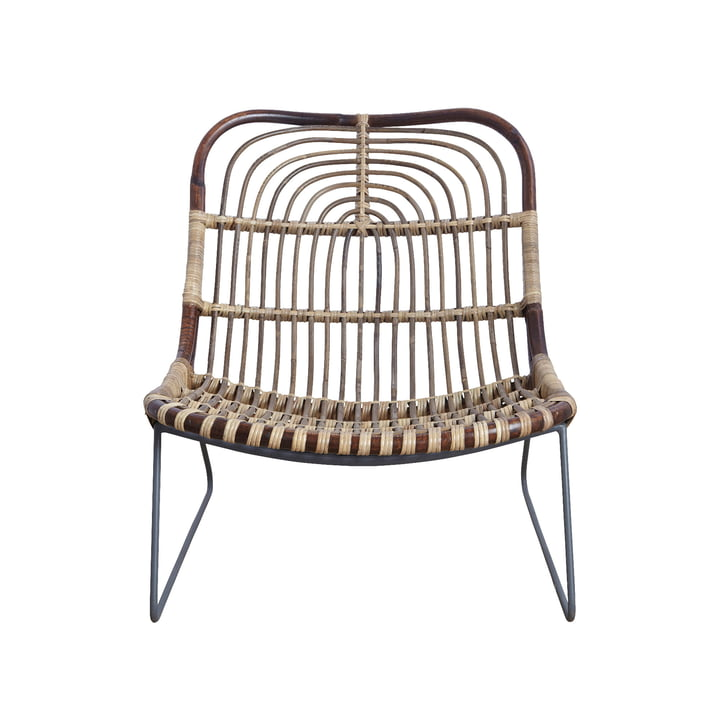 Kawa Lounge Chair, Rattan by House Doctor