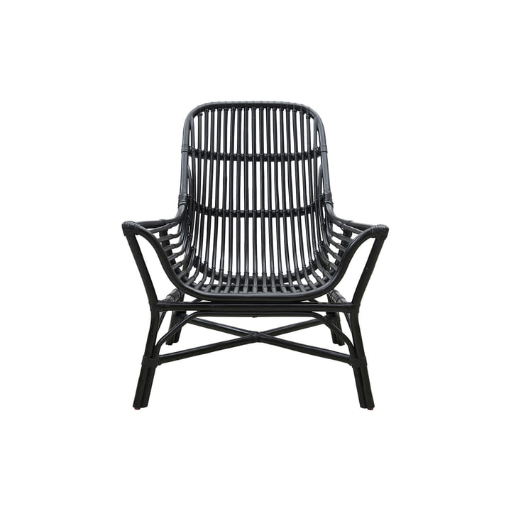 Colony Lounge Chair, black by House Doctor