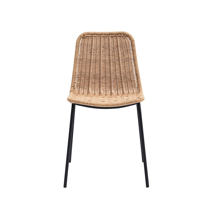 Hapur Dining Chair from House Doctor in nature / black