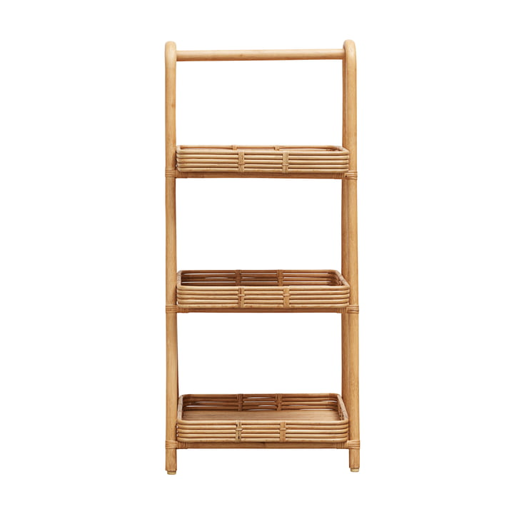 Orga Rattan Shelf by House Doctor in nature