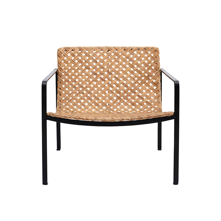 Habra Rattan Lounge Chair by House Doctor in nature