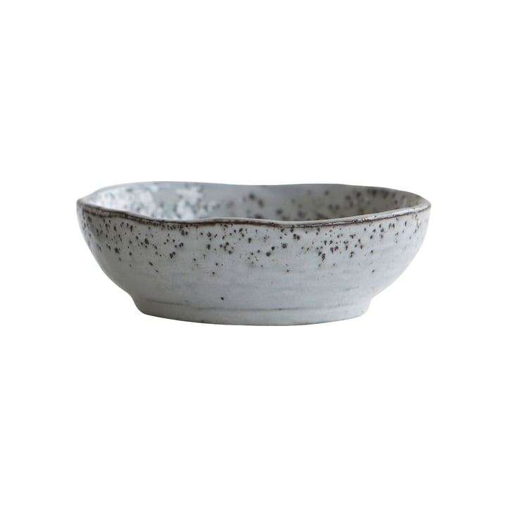 Rustic bowl Ø 21,5 x H 7,5 cm from House Doctor in grey-blue
