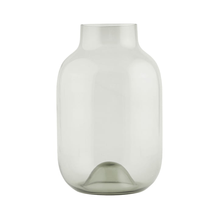 Shaped vase Ø 21 x H 32,5 cm from House Doctor in grey