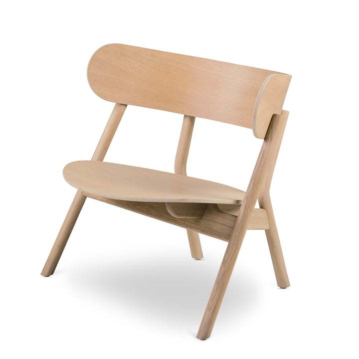Oaki Lounge Chair, Oak by Northern