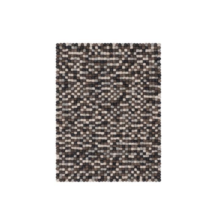 Néla felt ball carpet 70 × 100 cm from myfelt