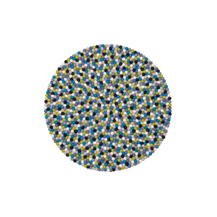 Fritz felt ball carpet Ø 70 cm by myfelt