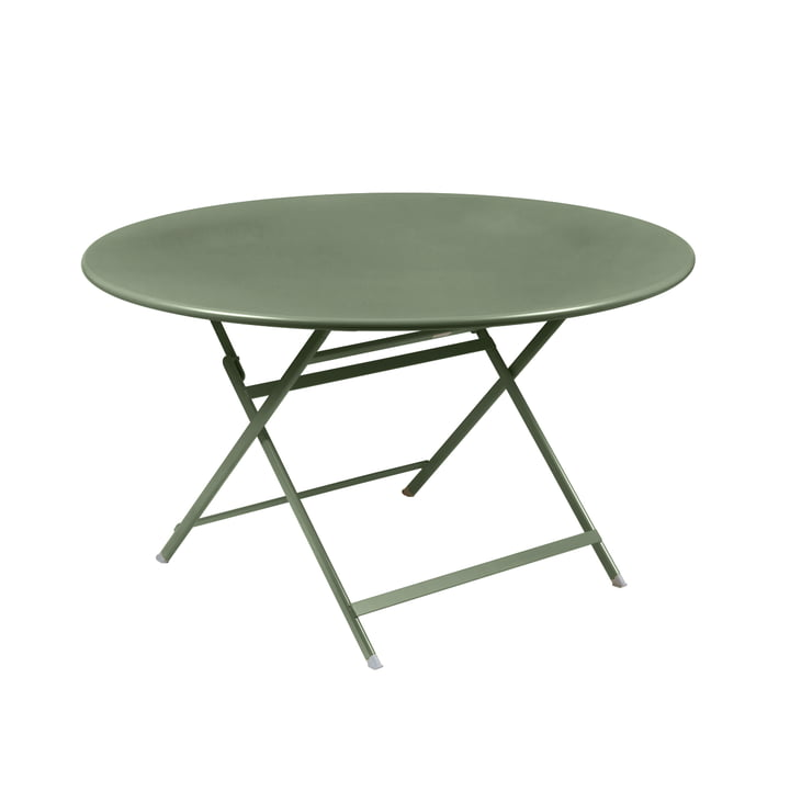 Caractére Folding table. Ø 128 cm, cactus from Fermob