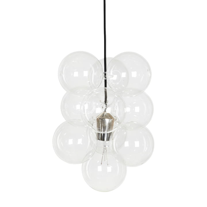 DIY Pendant luminaire from House Doctor in clear (14 parts)
