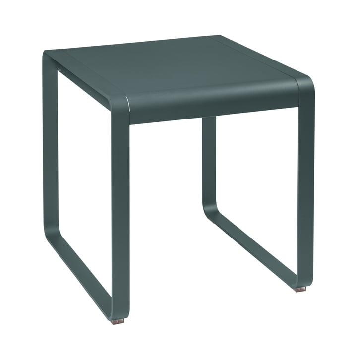 Bellevie Table 74 x 80 cm, thundery grey by Fermob