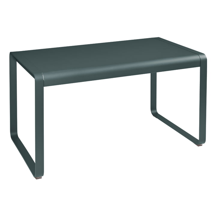 Bellevie Table 140 x 80 cm, thundery grey by Fermob