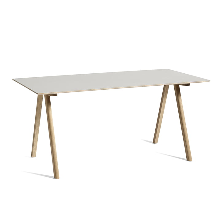 Copenhague CPH10 table, 160 x 80 cm, oak / off-white from Hay