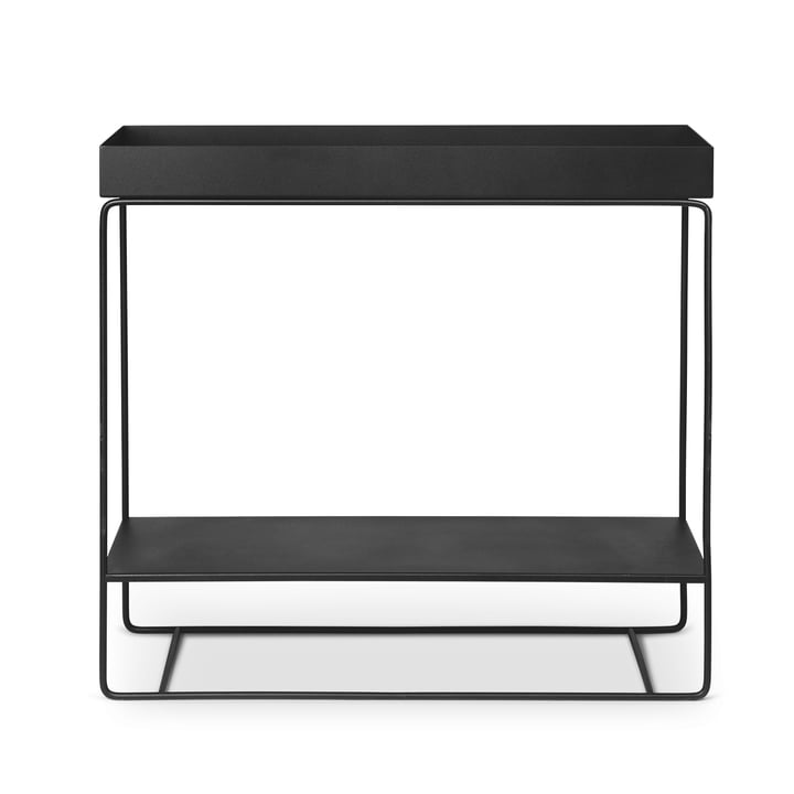 Plant Box with 2 levels, black by ferm Living
