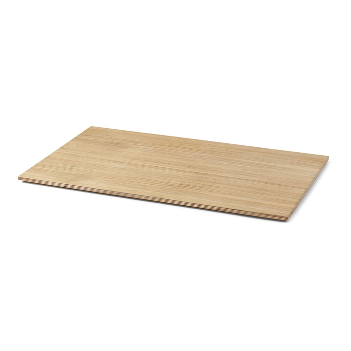 Tray for Plant Box large, oak oiled by ferm Living
