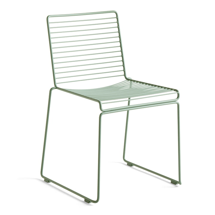 Hee dining chair, fall green from Hay