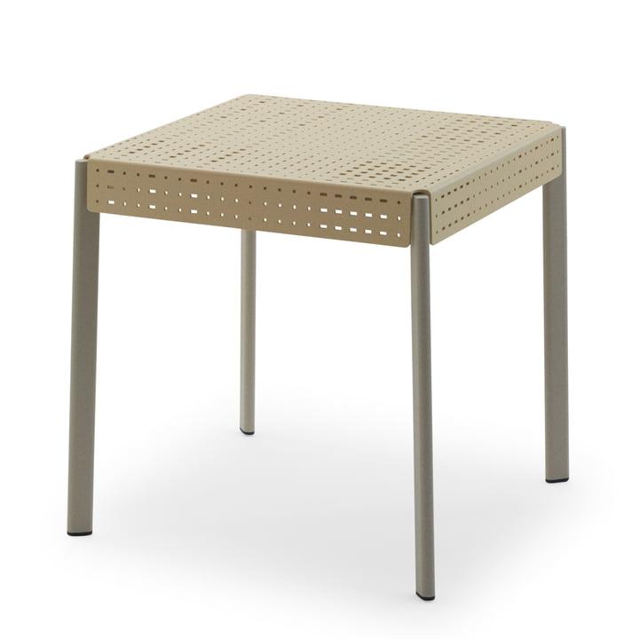 Gerda table 74,5 x 74,5 cm from Skagerak in ivory / pebble grey