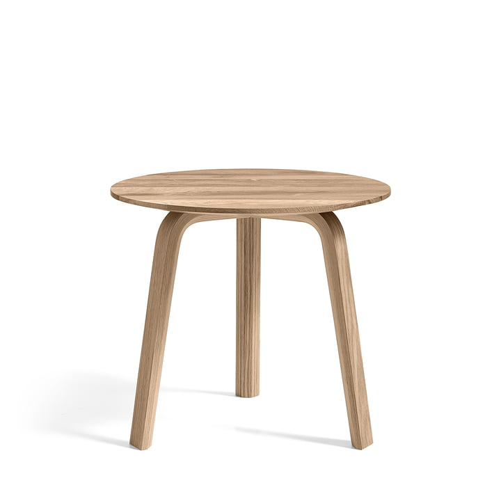 Bella Side table Ø 45 cm / H 39 cm, matt lacquered oak from Hay