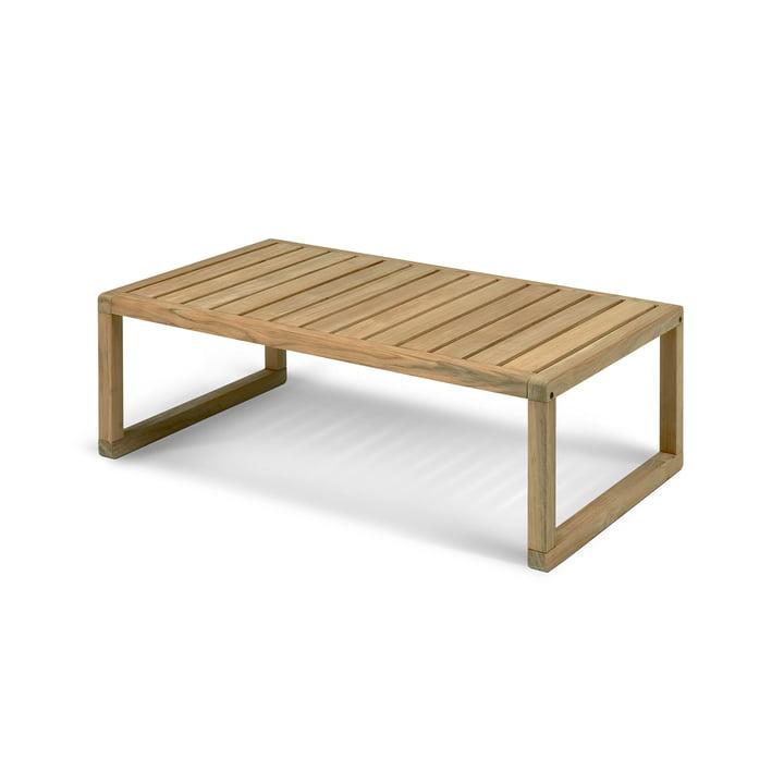 Virkelyst Side table 113 x 68 cm, teak from Skagerak