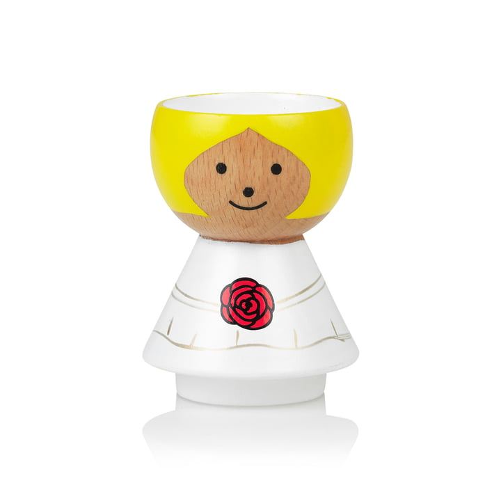 Bordfolk eggcup bride of Lucie Kaas