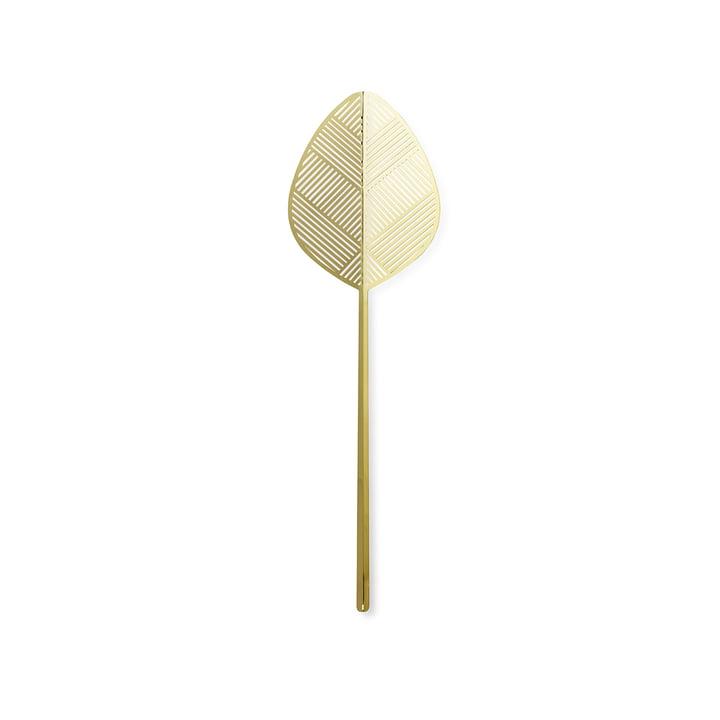 Leaflike metal leaf Alva H 50,6 cm from Lucie Kaas in brass