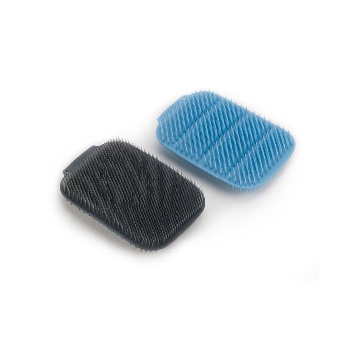 CleanTech Rinse sponge, blue / grey (set of 2) from Joseph Joseph