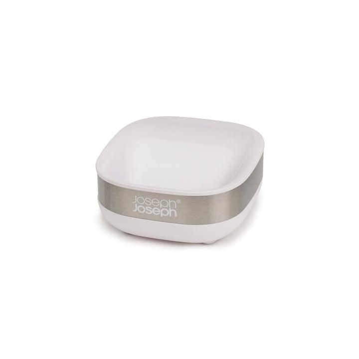 Slim Steel soap dish, white from Joseph Joseph