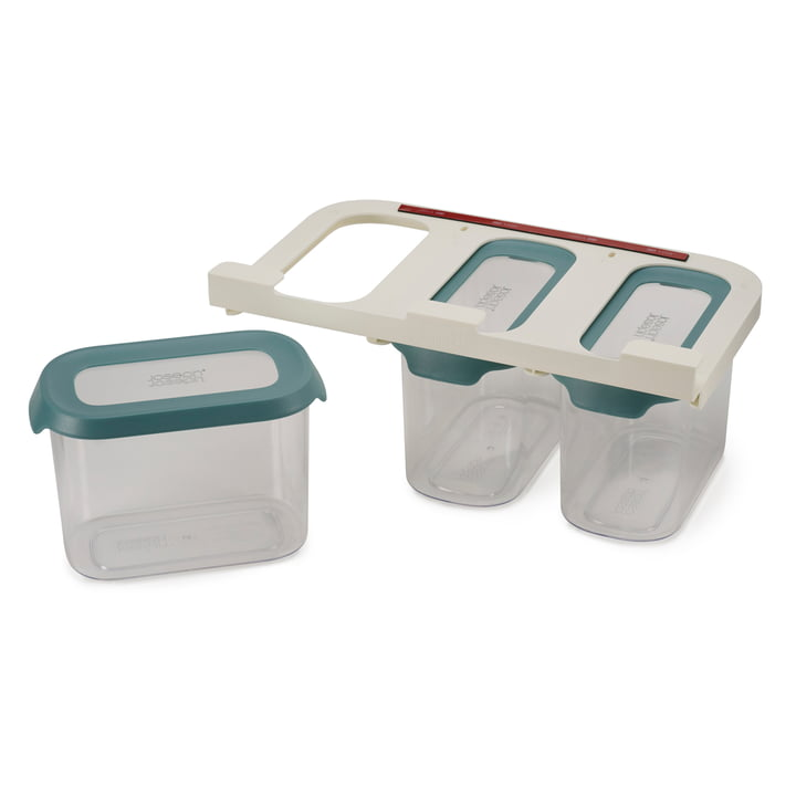 CupboardStore Storage box set, opal (3 x 1.3 l) from Joseph Joseph