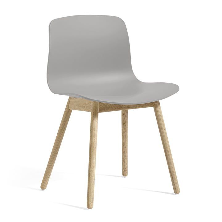 About A Chair AAC 12 by Hay in soaped oak / concrete gray