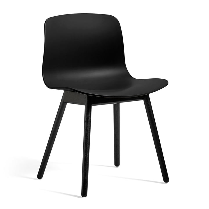 About A Chair AAC 12 by Hay in black stained oak / black