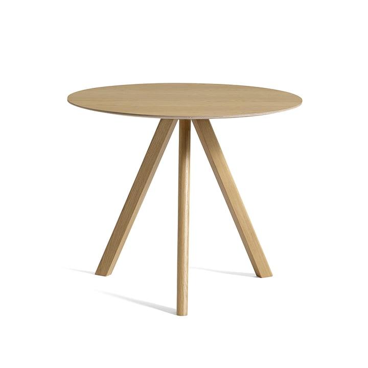 Copenhague CPH20 table Ø 90 cm by Hay in oak