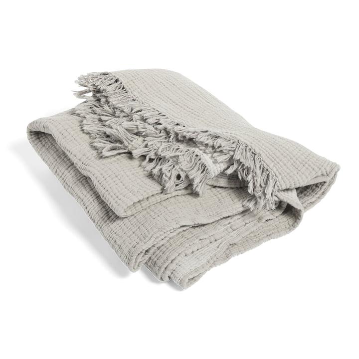 Crinkle Blanket from Hay in grey
