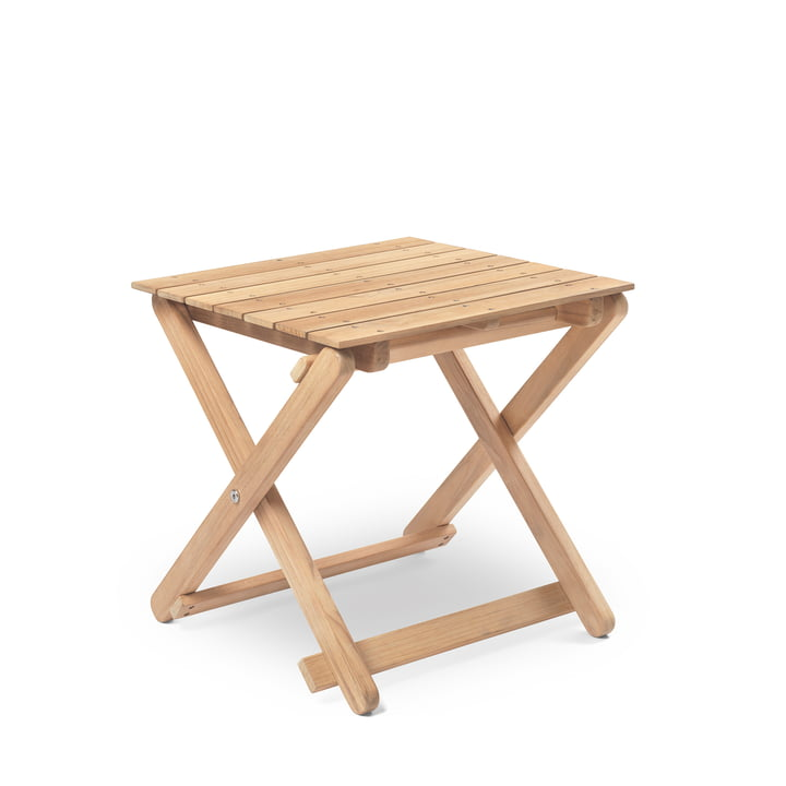 BM5868 Side table from Carl Hansen untreated teak