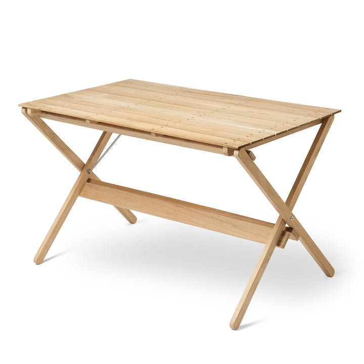 BM3670 Dining table 71,5 x 115 cm from Carl Hansen in untreated teak