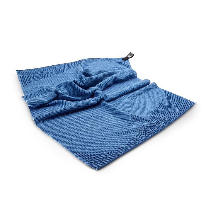 Toki Moe beach towel 60 x 120 cm from Terra Nation in blue