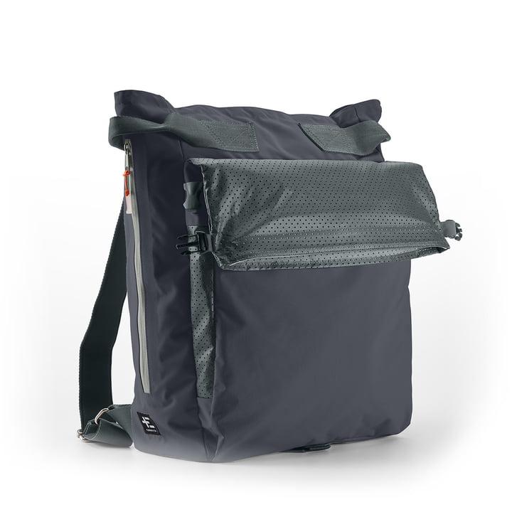 Haga Kopu beach backpack by Terra Nation in black and blue